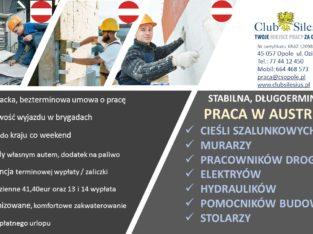 Cieśla, murarz, budowy Austria