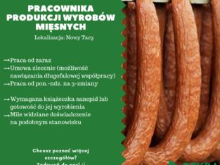 Pracownik Produkcji Wyrobów Mięsnych