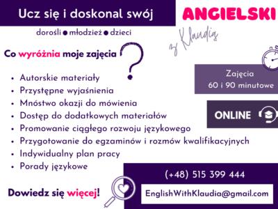 Ucz się i doskonal swój angielski